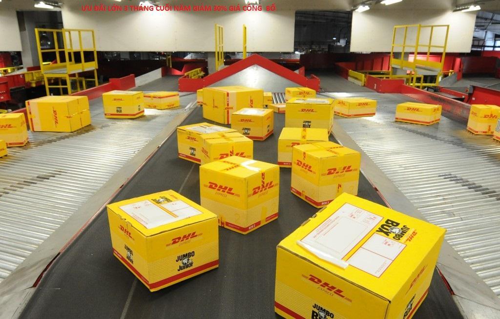 Chuyển phát nhanh DHL đi Quốc tế giá rẻ