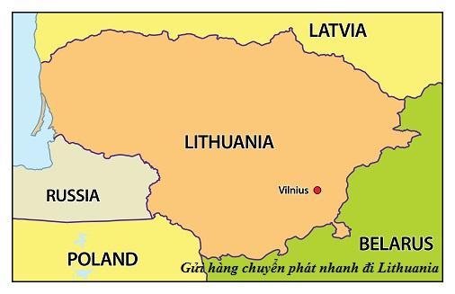 Chuyển phát nhanh đi Lithuania-Litva